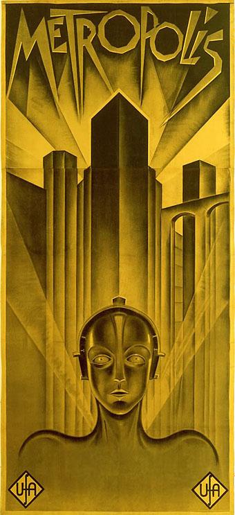 Fritz Lang's Famous Metropolis Poster