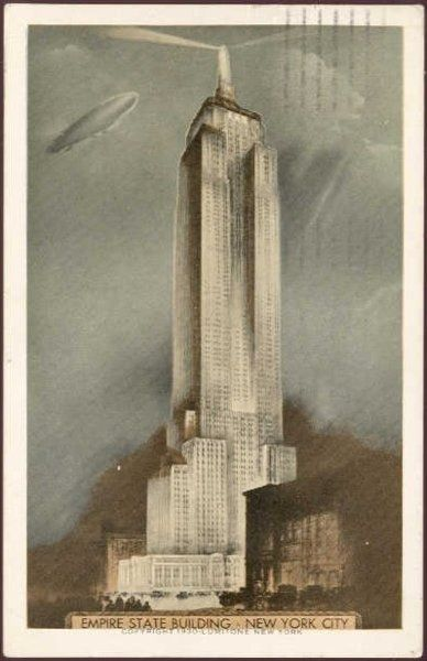 Poster of the Empire State Building