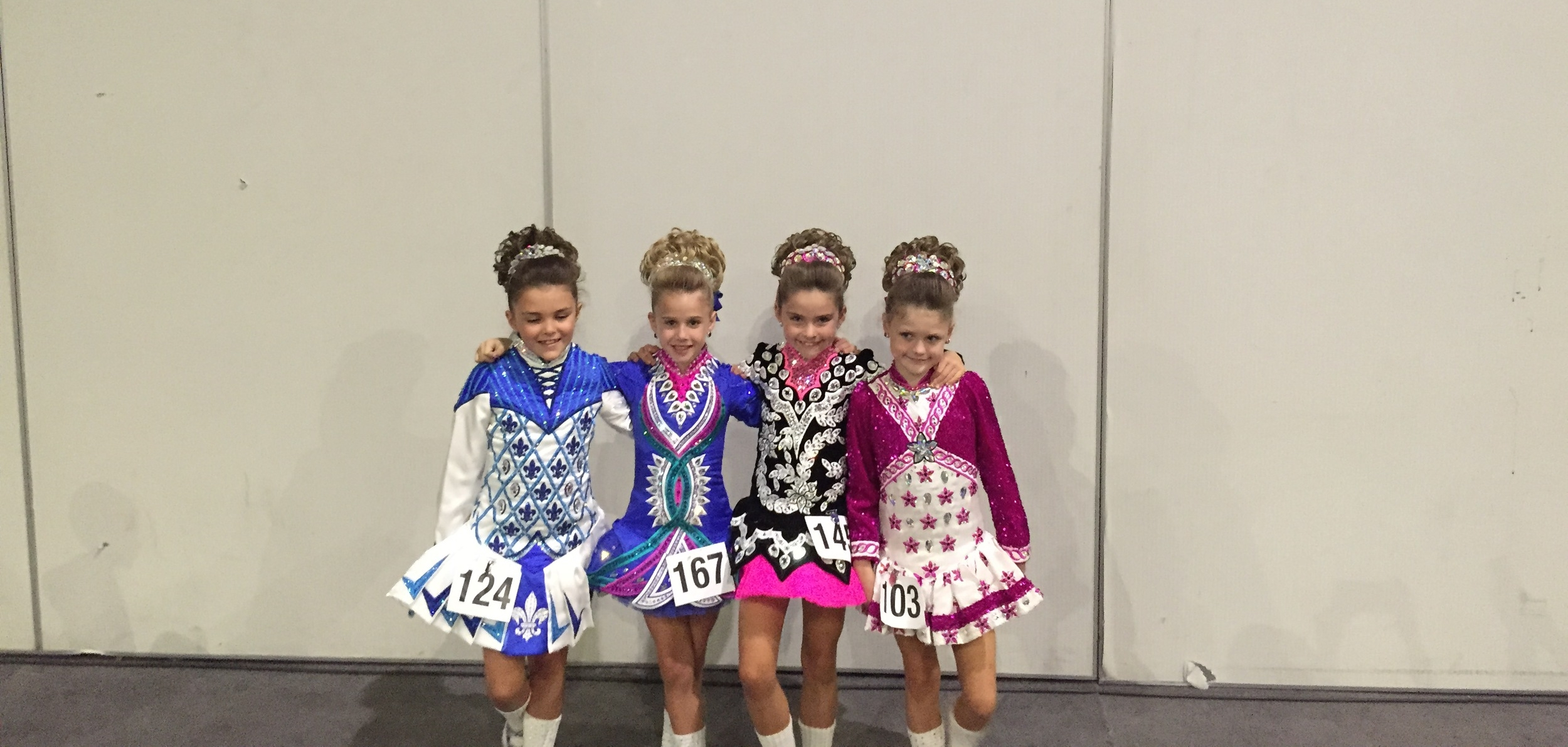 U8 Girls at the 2015 Nationals