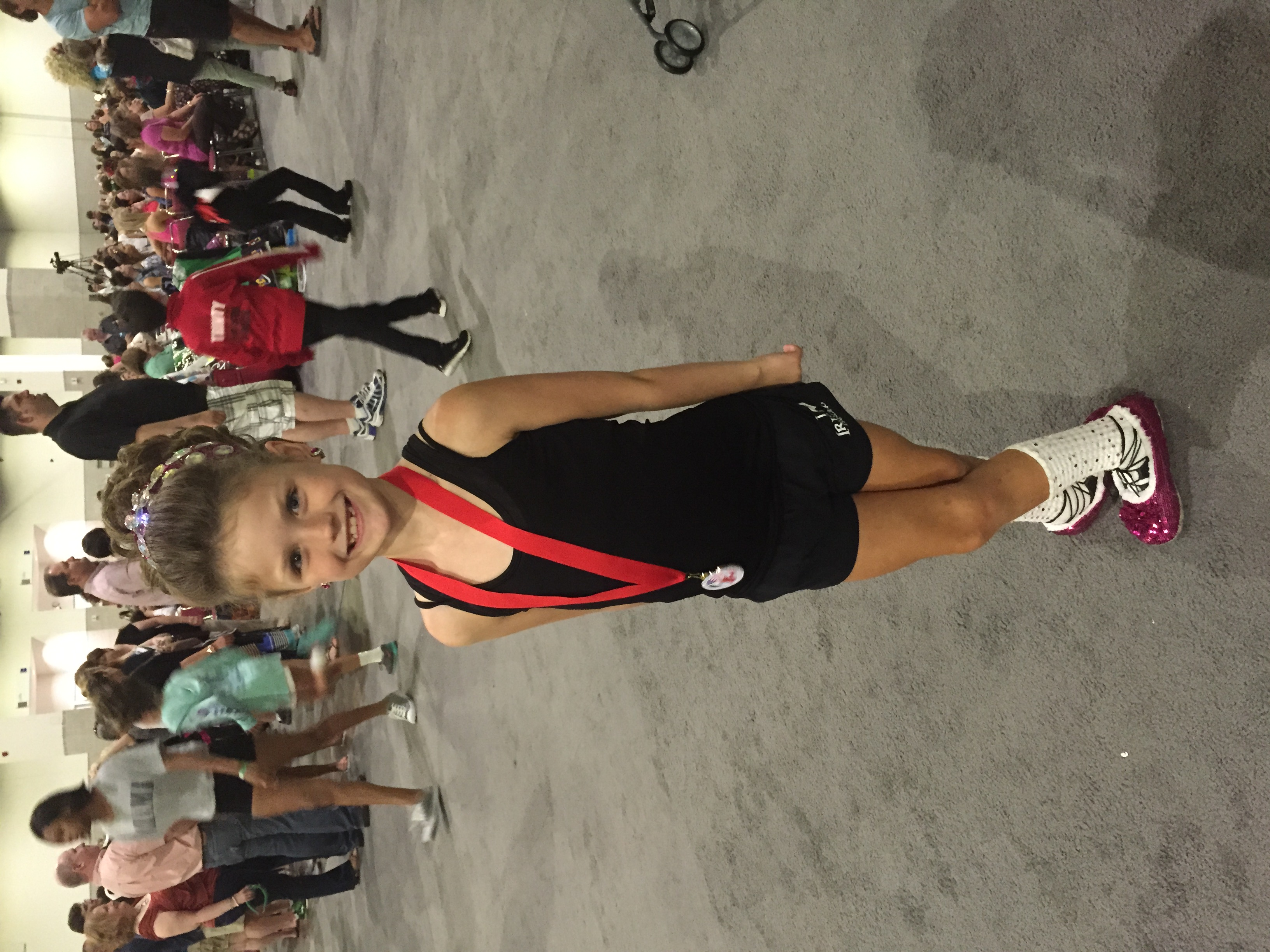 Kaelin Donahue Girls U8 40th place at the 2015 Nationals!