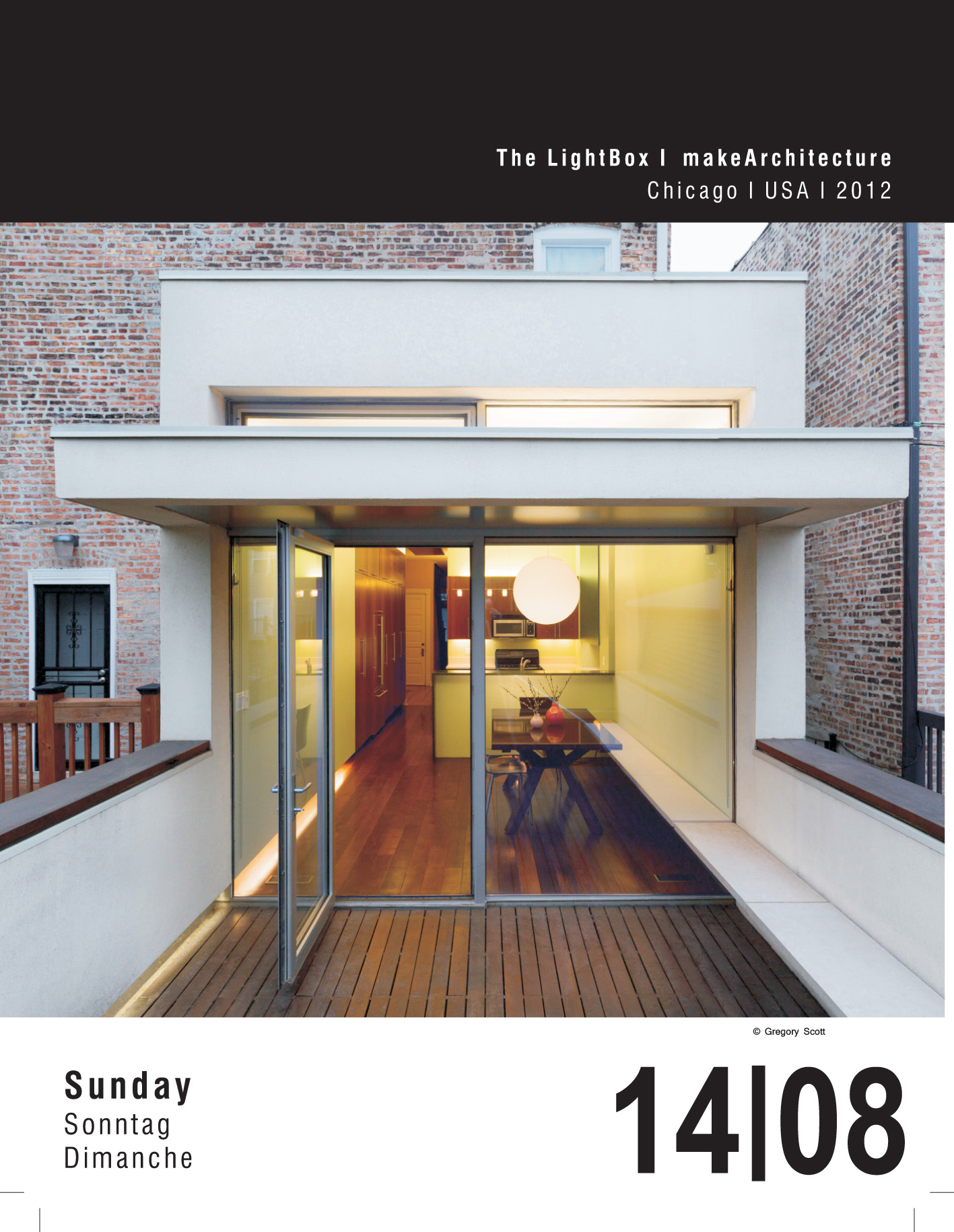Archipendium tear sheet, front, 16 August 2016