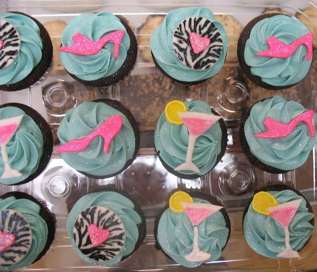 Martini Cupcakes