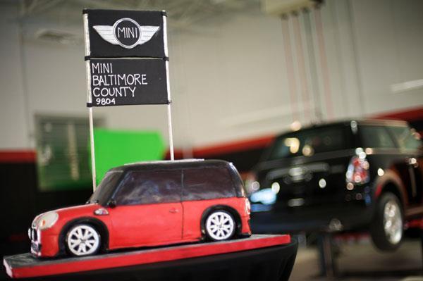 Automobile Cake for Car Dealership