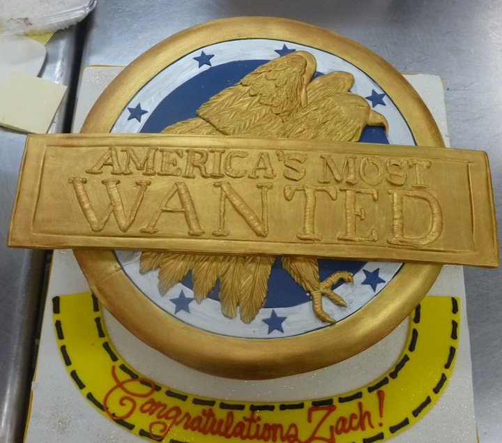 Cake for America's Most Wanted