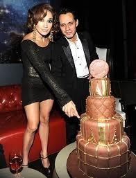Jlo and Mark Anthony Birthday Cake