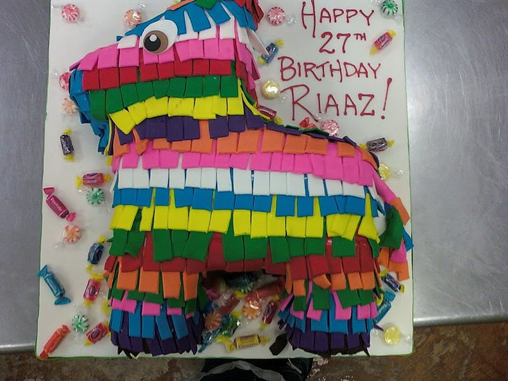 Pinata Cakes are so colorful and fun for any childrens party