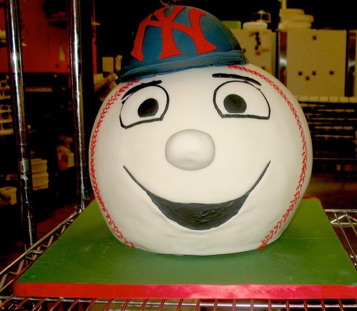 Baseball Sports Cake
