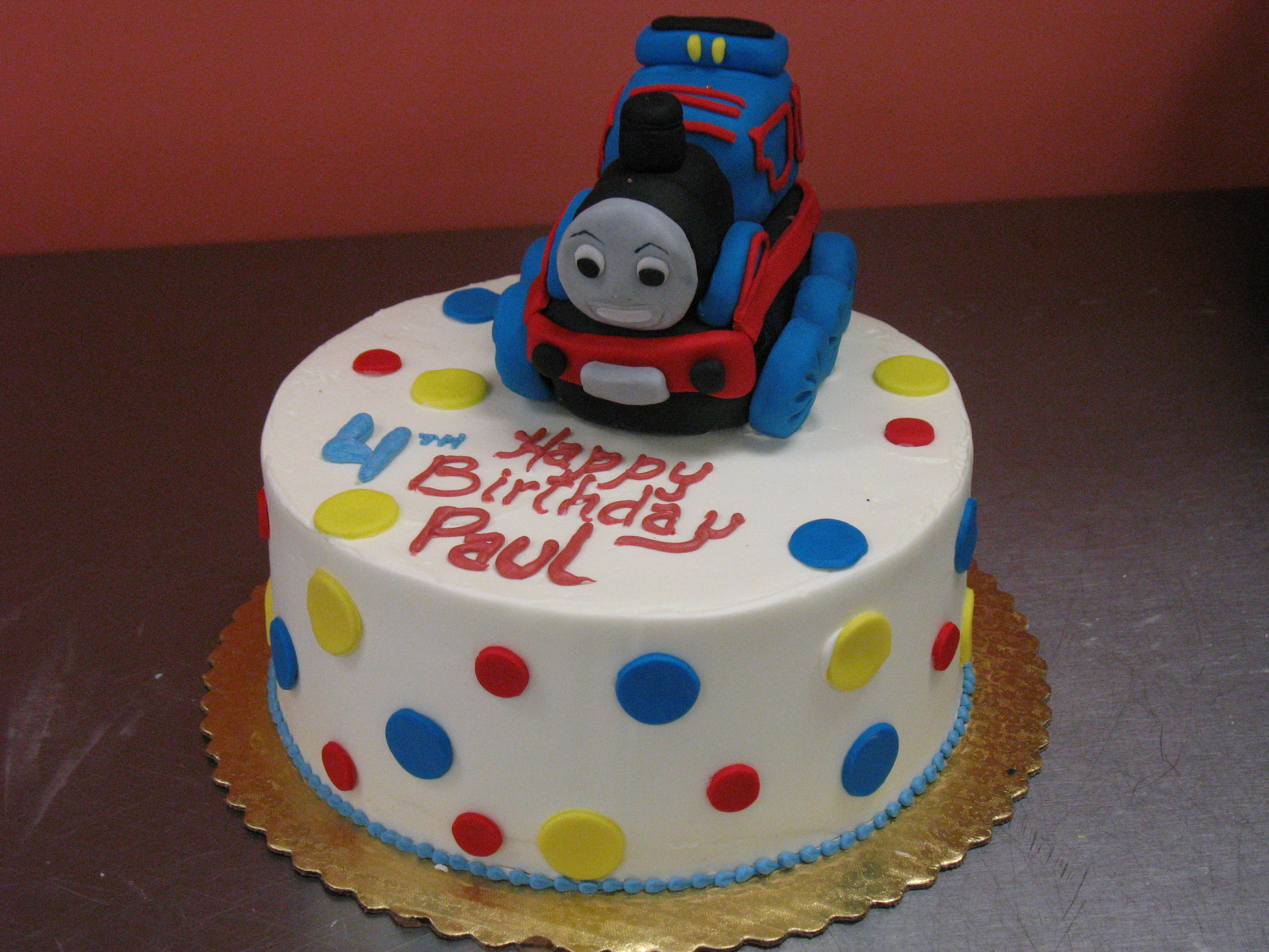 Mickey Mouse Birthday Cake IMG 1705JPG