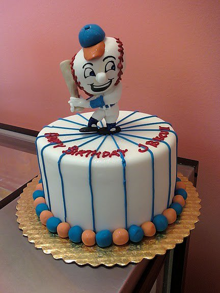 Baseball Player Cake