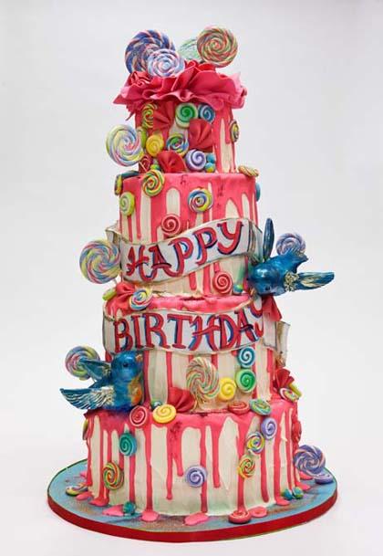 Birthday Cakes — Fancy Cakes by Leslie DC MD VA wedding