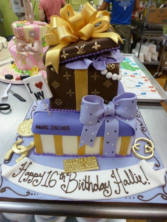 Birthday Cakes — Fancy Cakes by Leslie DC MD VA wedding cakes ...