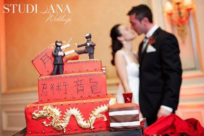 Karate Groom's Cake