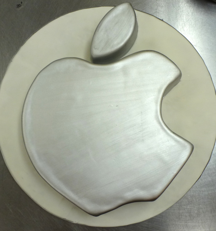 Apple Computer Logo cake