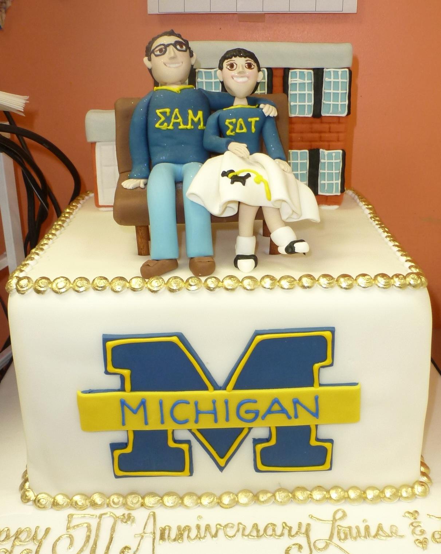 Michigan groom's cake