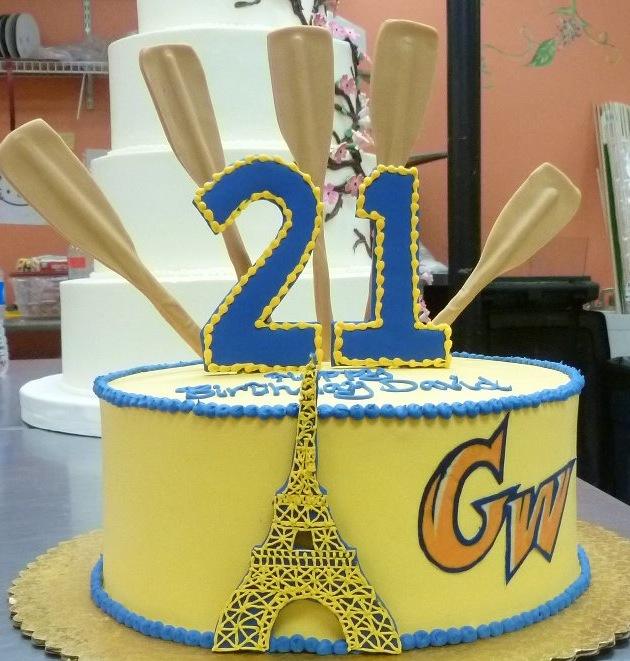 GW University Cake