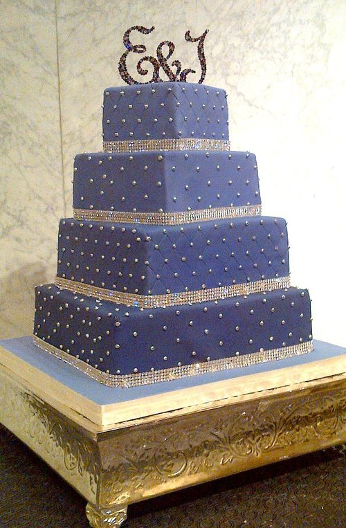 Wedding Cake with Quilting
