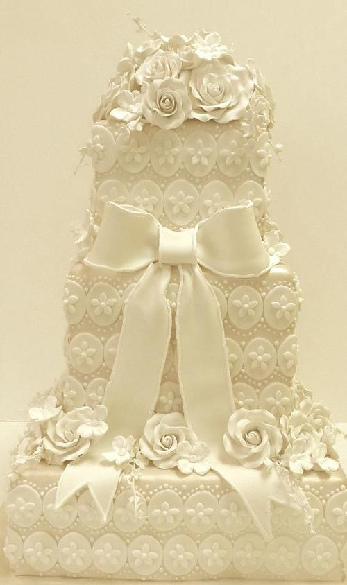 Lacey Wedding Cake