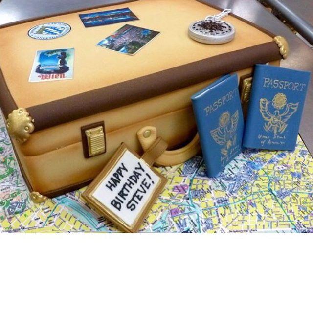All this dreary weather has us thinking about some travel! But we'll settle for cake instead.  #happybirthday #birthdaycake #travelcake #fondantcake #fancycakes #bethesda #washingtondc #dmvcakes #instacake