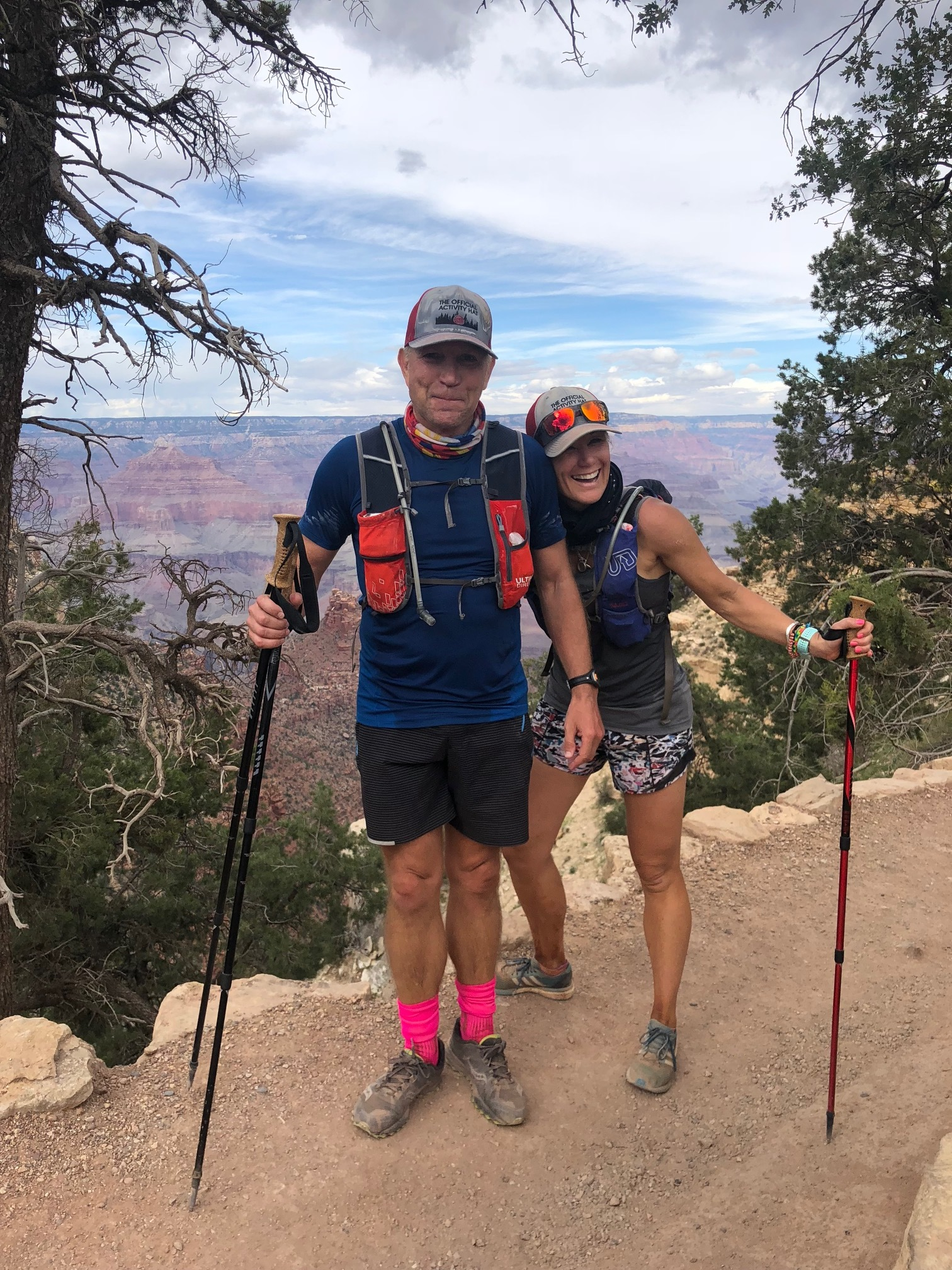 "- Mark and I are thrilled to be taking part in the Run2Revive Grand Canyon crossing for our 3rd time!Several of our friends lives have been impacted in the past year by ALS and Alzheimer's and it once again reminds us how important this cause is.Sarah, Shara and Elizabeth have elected to join us and run on behalf of their loved ones, some of who passed in 2018.Elise, number one daughter will also take on the challenge!Our plans are extra epic this year. If we reach our team fundraising goal, Mark and I plan to cross Rim2Rim2Rim in a single day! 2 back-to-back marathons, South Rim to North Rim and back again.We appreciate any support you can give.""I don't run to add days to my life, I run to add life to my days."""