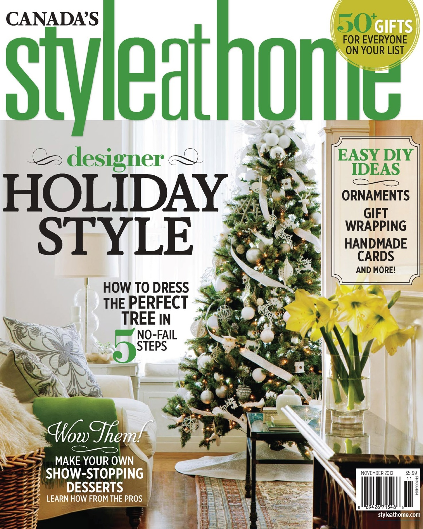 Style at Home  Nov 2012