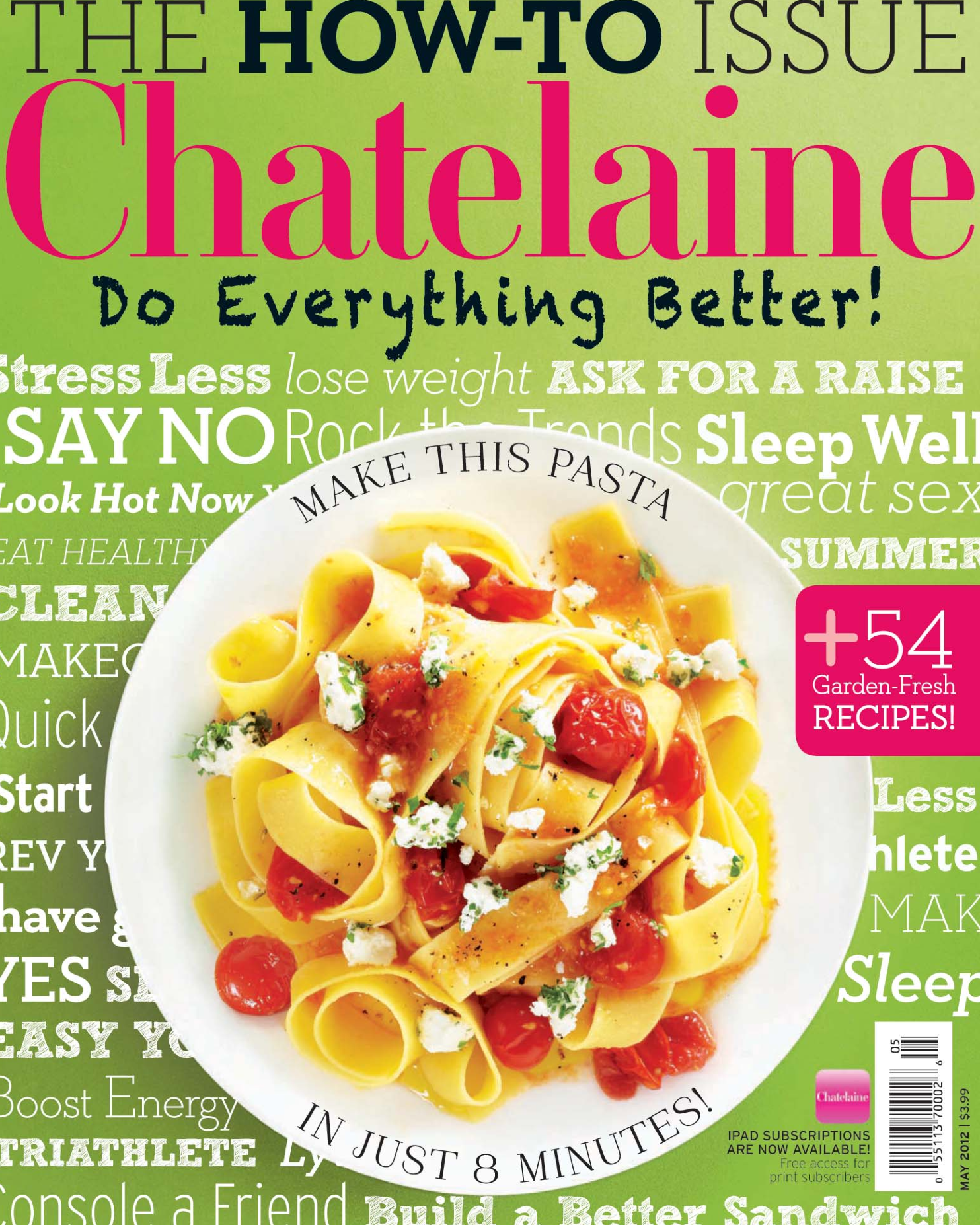 Chatelaine Mag  May 2012