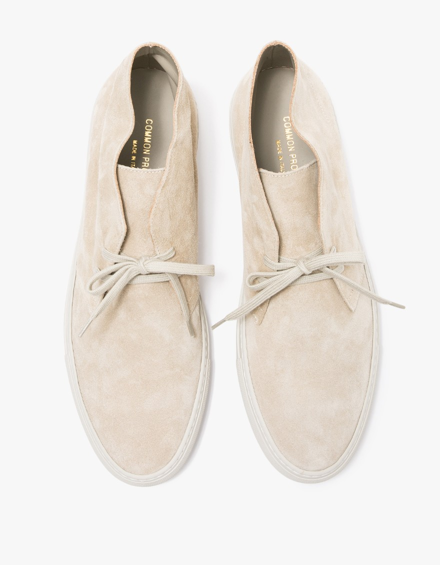 Common Projects Chukka in Suede