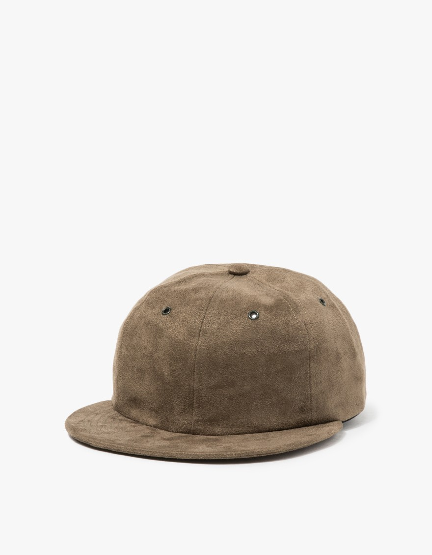 Norse Projects Fake Suede 6 Panel Cap