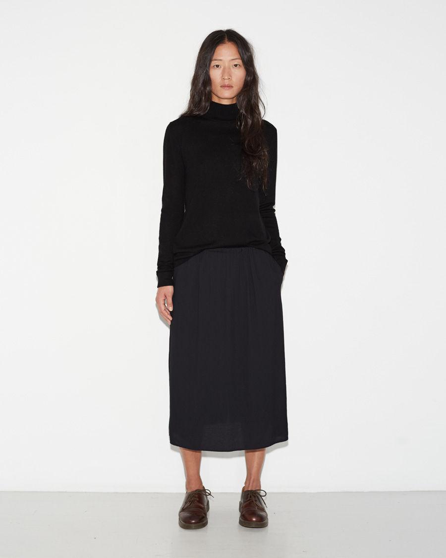 Long Slip Skirt