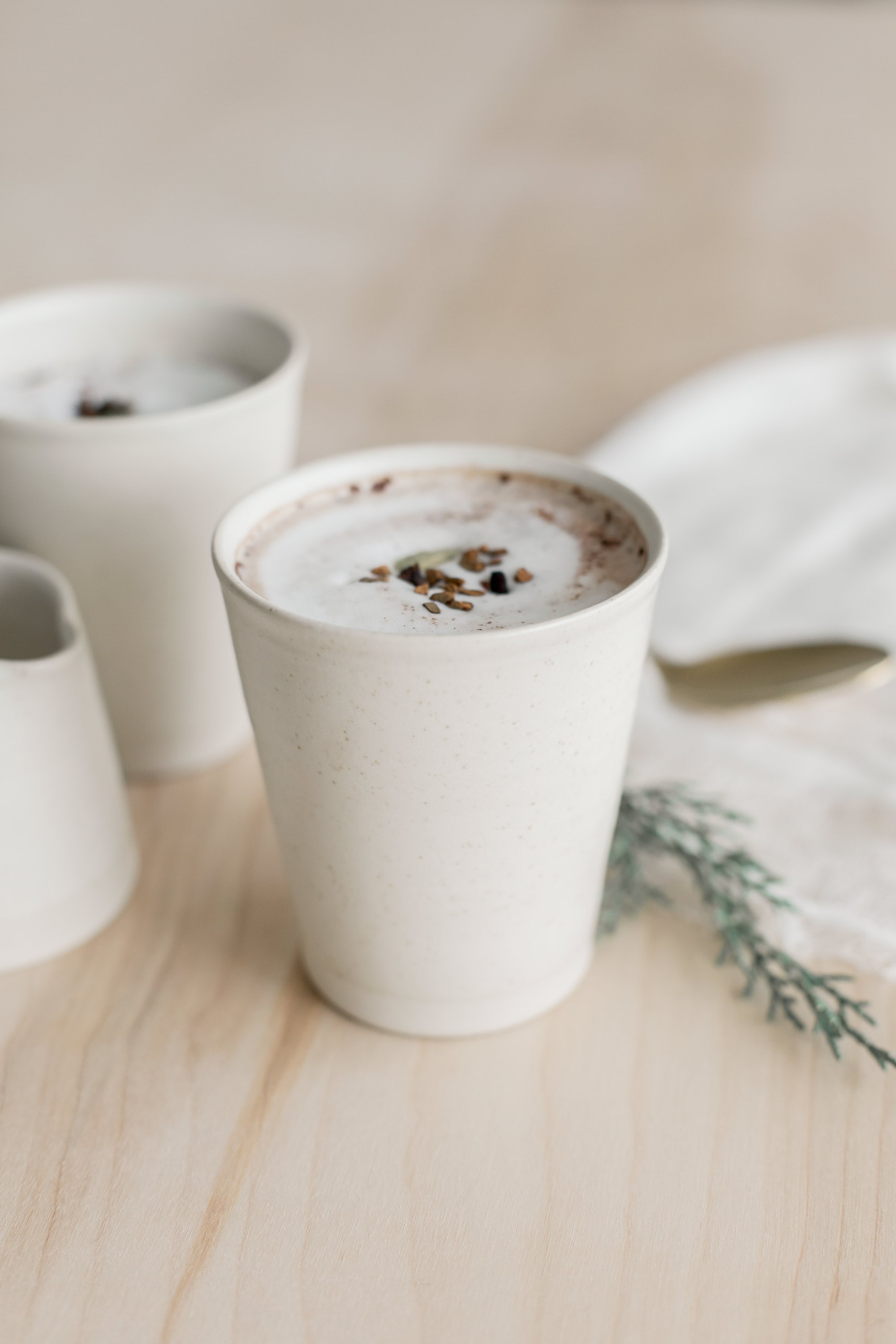 Hand-thrown, fired, and glazed by a Dublin-based studio, these tumblers combine traditional pottery techniques with a modern design aesthetic. As durable as they are beautiful, these beauties are microwave and dishwasher safe.  THE CITIZENRY  $30