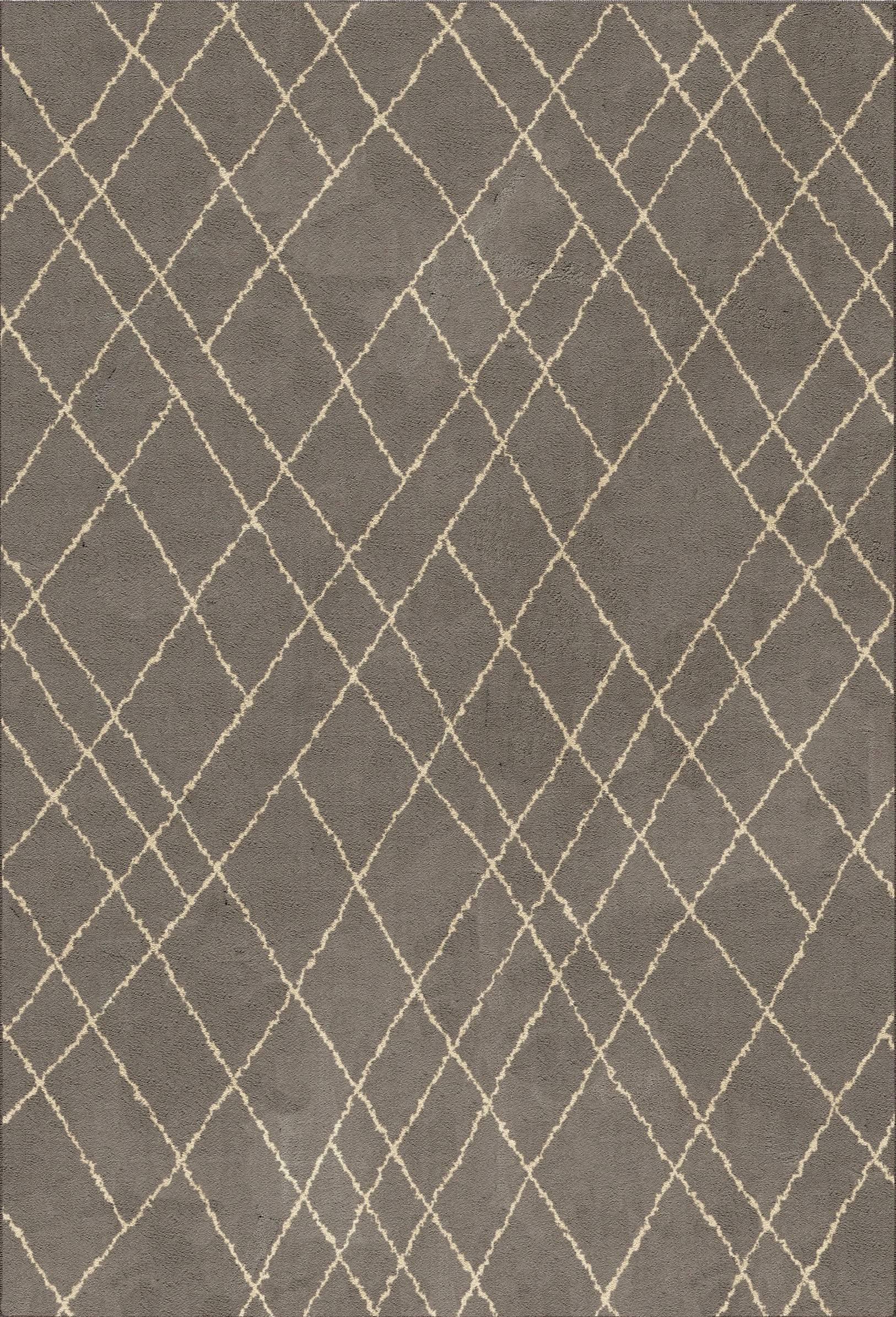 HOMEWARE Graphic Criss Cross Fleece Rug  THRESHOLD