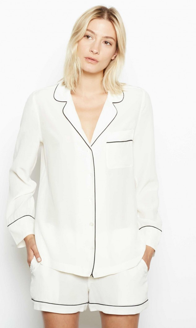 EQUIPMENT Silk Pajama Set