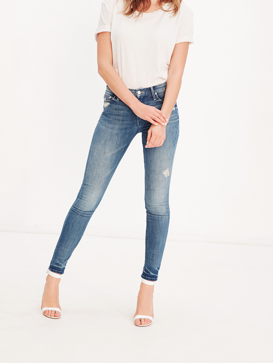 High waisted looker denim