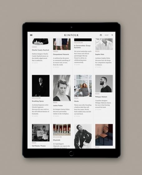 Annual digital subscription to Kinfolk magazine.