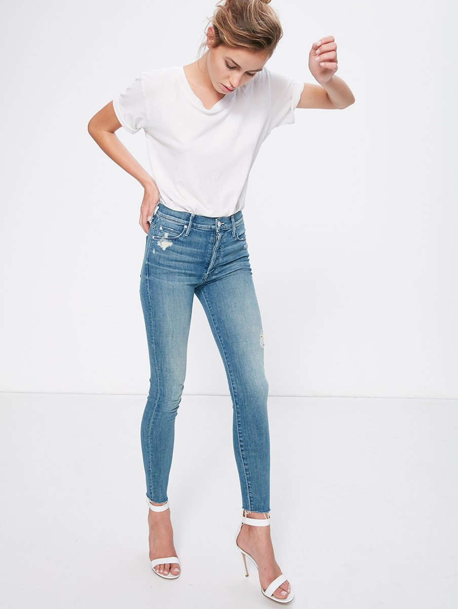 Stunner ankle fray denim