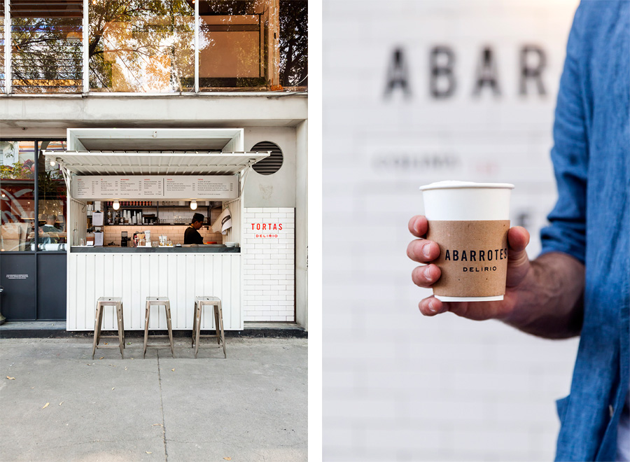 Savvy Studio  delivers yet again a handsome brand identity for a gourmet bakery and coffee shop  Abarrotes Delirio  in Mexico. The corner shop wanted to convey the local street food but packaged in simple and practical design that attracts consumer with diversified taste.