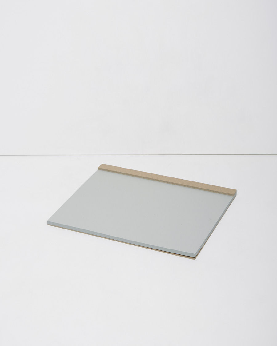 ITO BINDERY Drawing Pad  A simple, A4 drawing pad of light grey paper on stable, recycled cardboard with micro-perforation at binding.