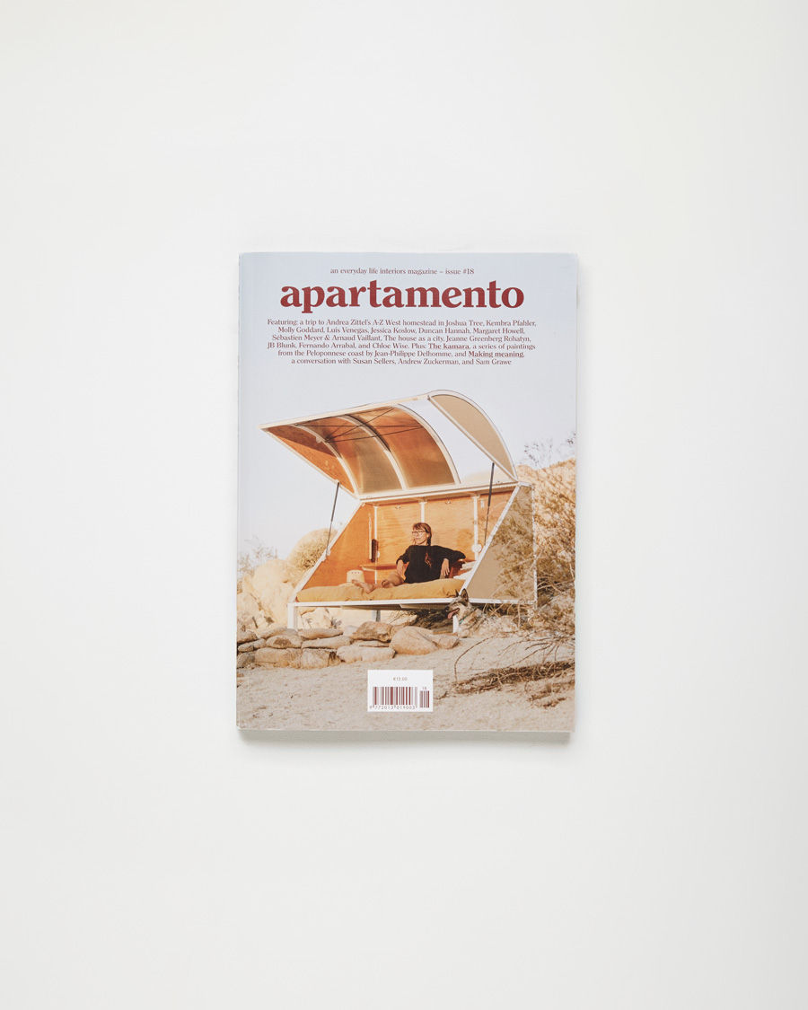 APARTAMENTO Magazine  An everyday life and interiors journal with candid glances into the homes of both famed & lesser-known creatives.