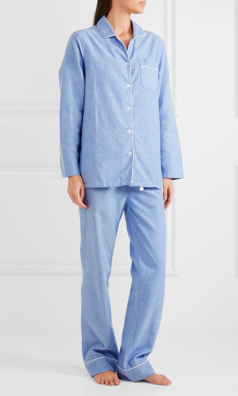 THREE J NYC Cotton Flannel Pajama Set