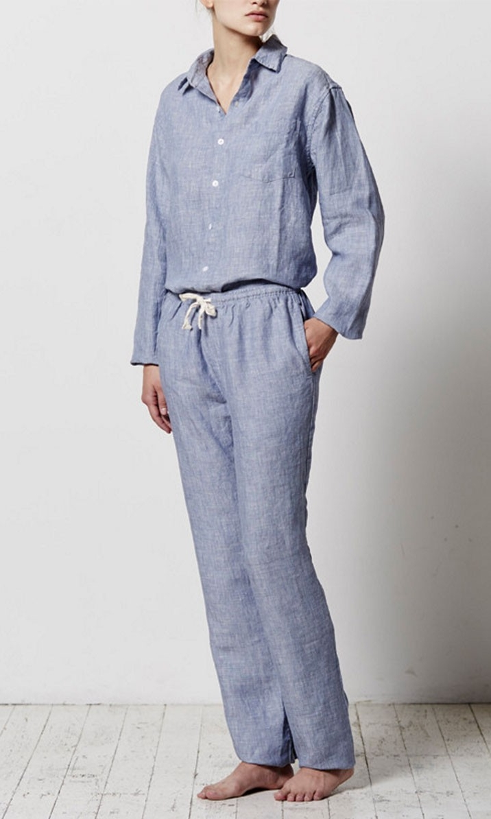 IN BED Weave Long Pant