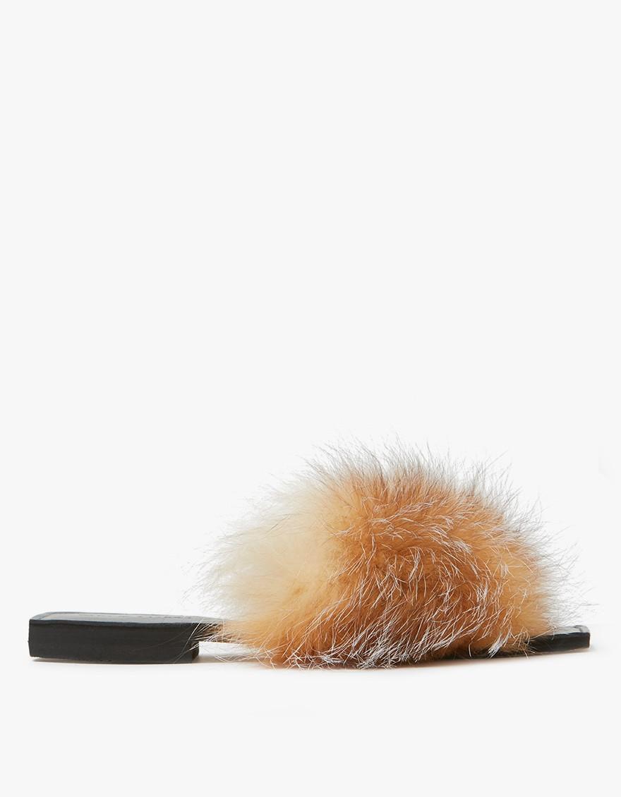 Furry Baby Slides