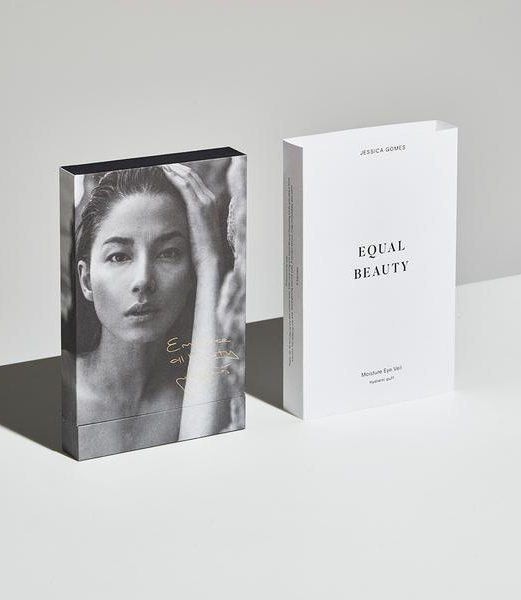 EQUAL BEAUTY  Former model Jessica Gomes has launched her skincare line  Equal Beauty . Gomes invested her time and resources on her passion project and oversee through the production of her products, from the selection of ingredients, product development,to modeling for her own line, and to its very branding, packaging, and retail marketing of the products.