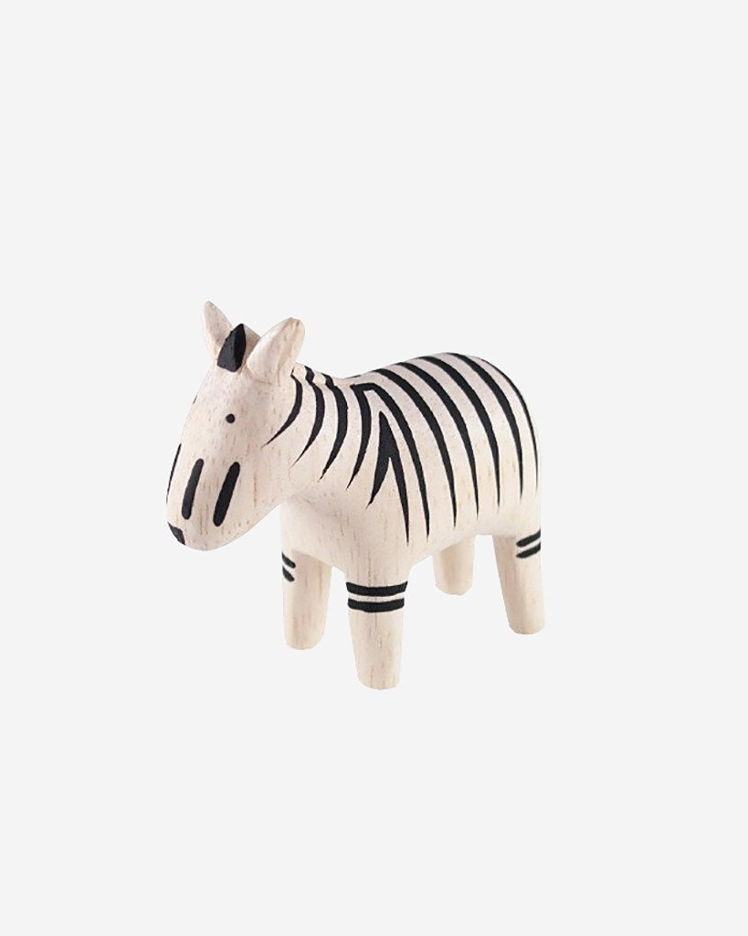 T-LAB Polepole Animal Zebra  Polepole (pronounced poh-leh poh-leh) means 'slowly slowly' in Swahili and ultimately describes how each one of these animals are crafted. The handmade nature means each animal is ever so slightly different - no other one like it in the world!