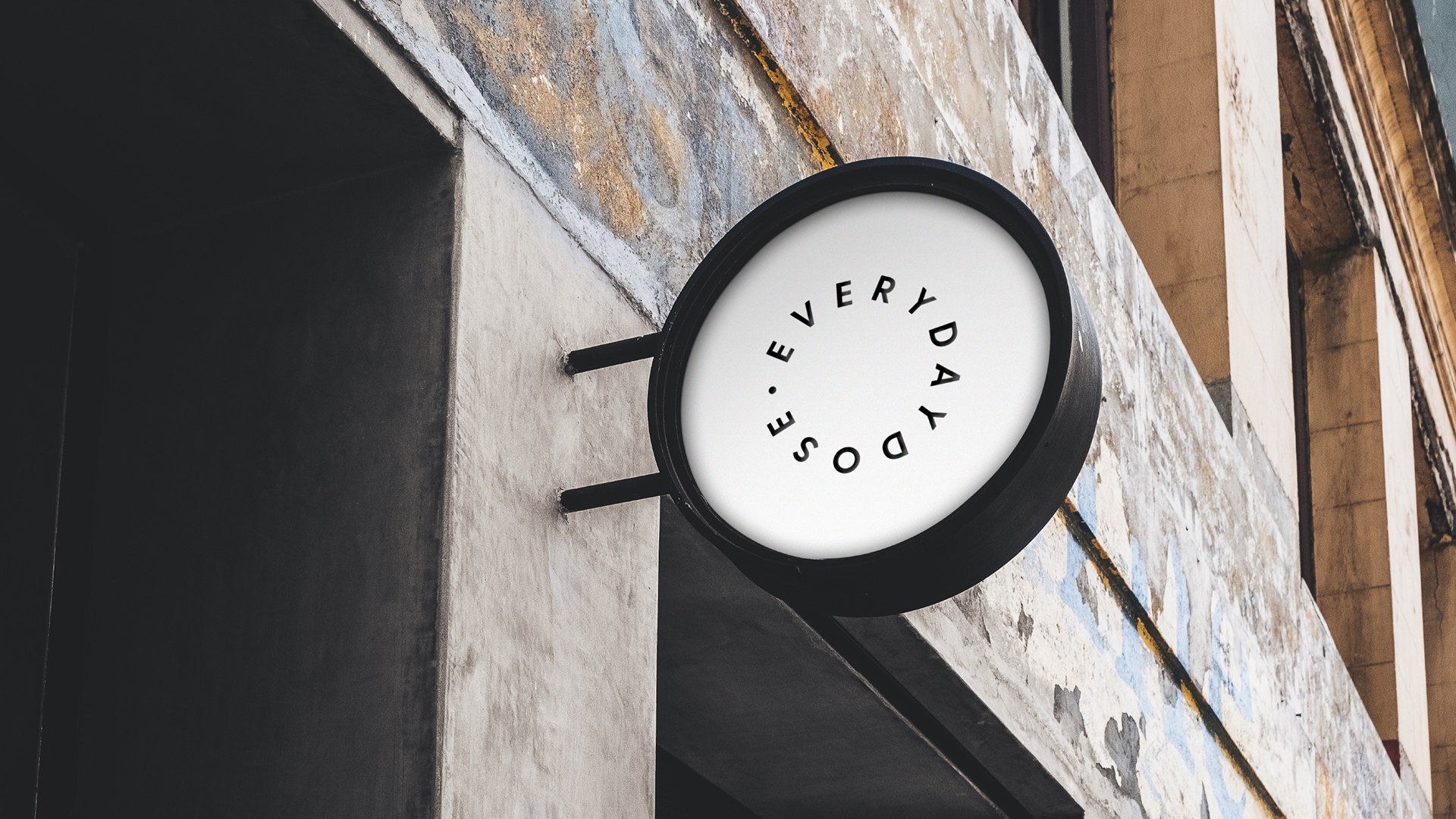 EVERYDAY DOSE   Everyday Dose is an espresso bar located in Christchurch, New Zealand. A modern and minimal yet by no means inhibited brand that coalesce with the identity and product of the shop. Design is by Elliot Stansfield of  Stansfield Design Studio  based in New Zealand.