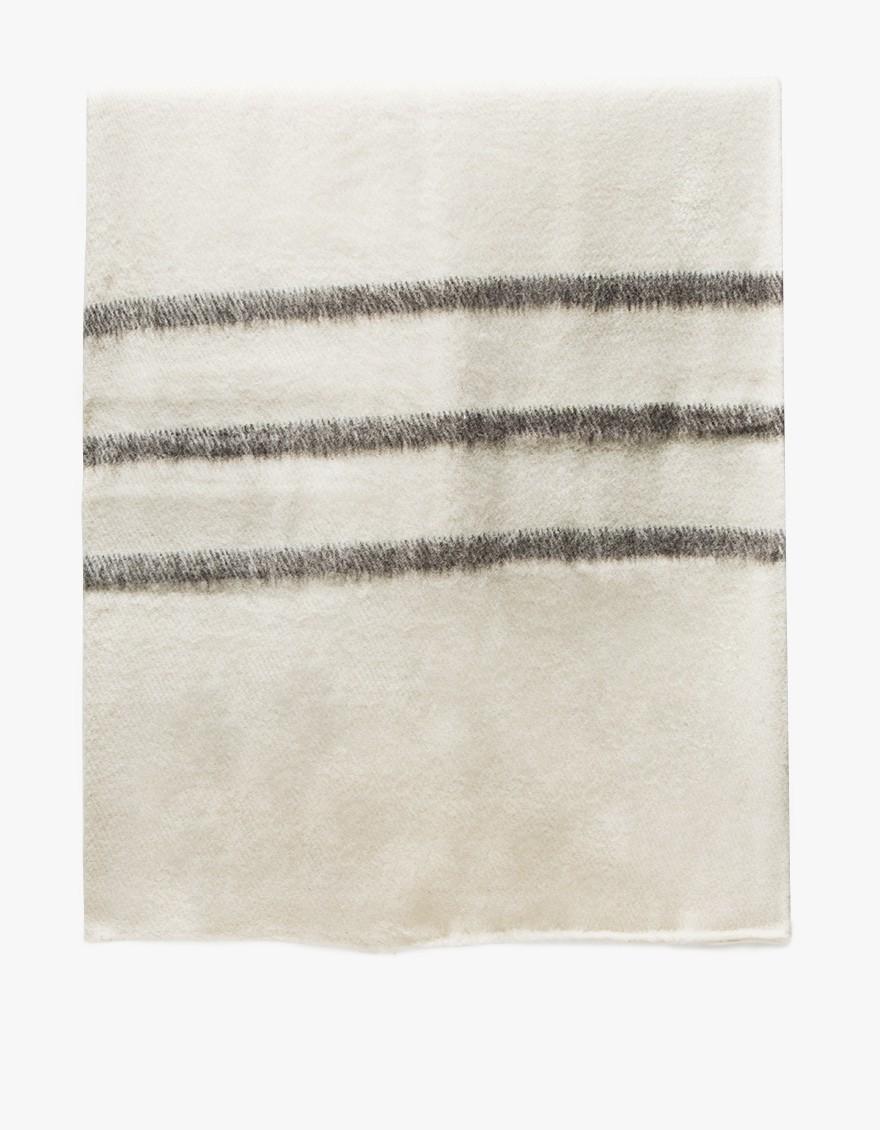 Sabana Wool Throw Stripes