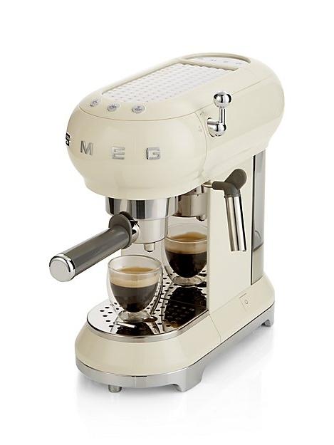 Cream Espresso Maker
