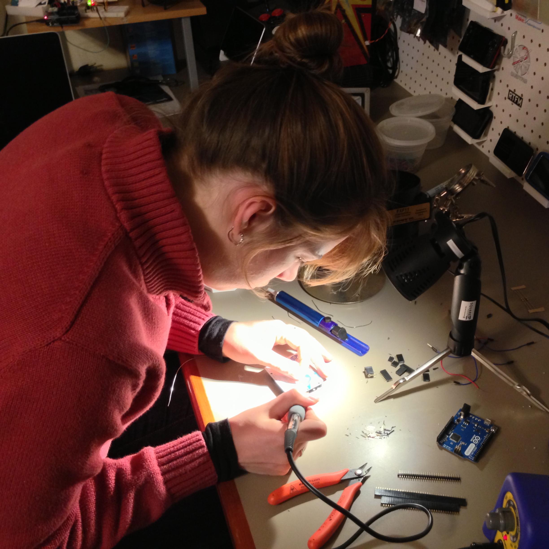 Still more soldering