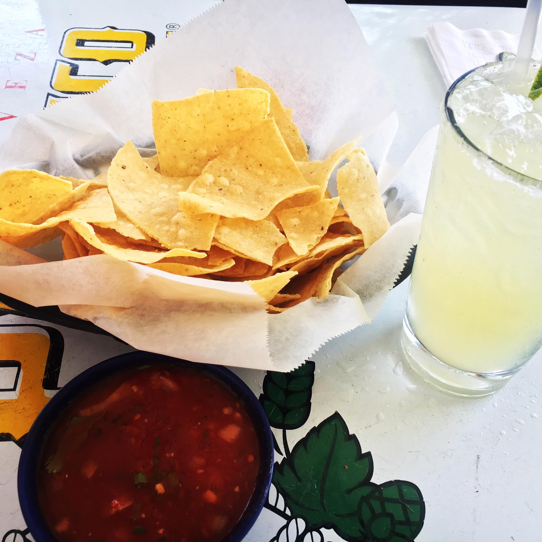Rita, Chips and Salsa