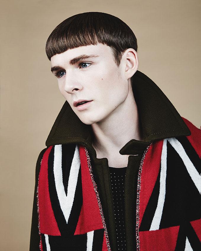 Models: Stephanie Shiu (Next) / Hugo Labrecque (Folio) Hair & Makeup: Paco Puertas (L 'Eloi)