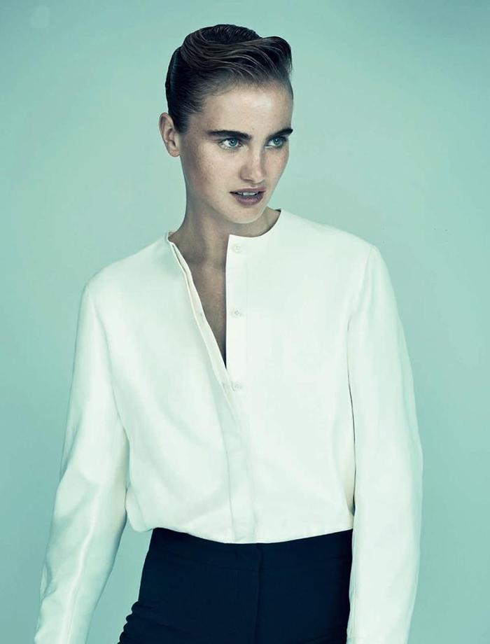 Photographed by  Thomas Cooksey    Model  Elinor Weedon