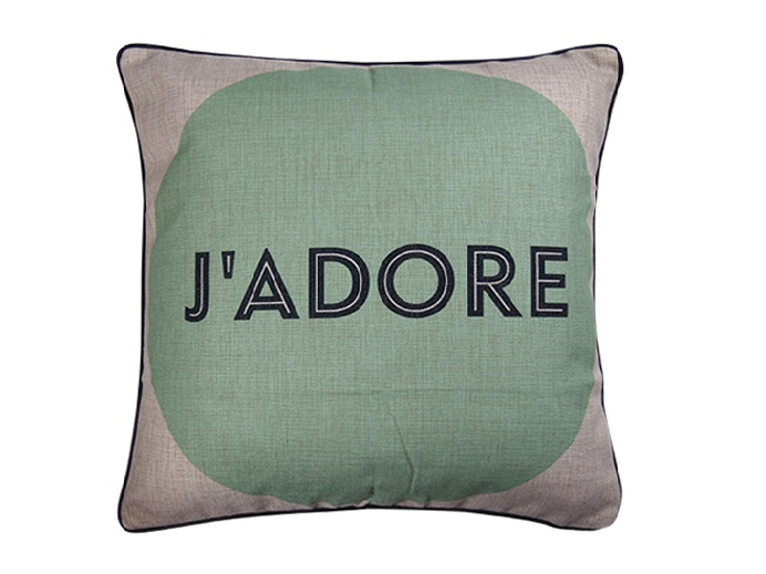 J'Adore Cushion Cover